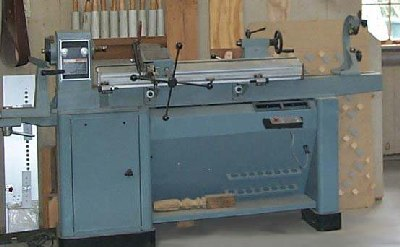 The Master Woodbutcher S Delta Dl40 46 400 Lathe Picture