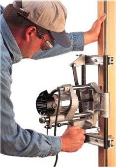 The Master Woodbutcher S Porter Cable 513 Lock Mortising