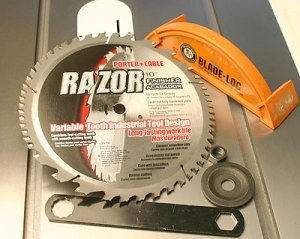 The Master Woodbutcher S Porter Cable Razor Carbide Saw