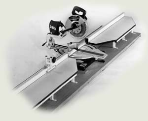 The Master Woodbutcher S Biesemeyer Miter Saw Fence System