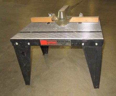 The Master Woodbutcher S Craftsman Router Table Picture Page